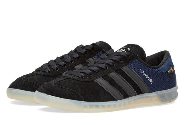 Кроссовки мужские Adidas HAMBURG черно/синие