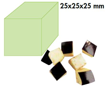 Диск для овощерезки Robot Coupe CL50 кубики 25х25 (28115), фото 2