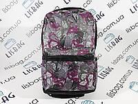 Женский рюкзак в бабочку, большой текстиль водонепроницаемый