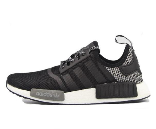 Кроссовки мужские Adidas NMD Runner PK черный/серый