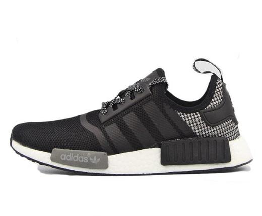 Кроссовки мужские Adidas NMD Runner PK черный/серый, фото 2