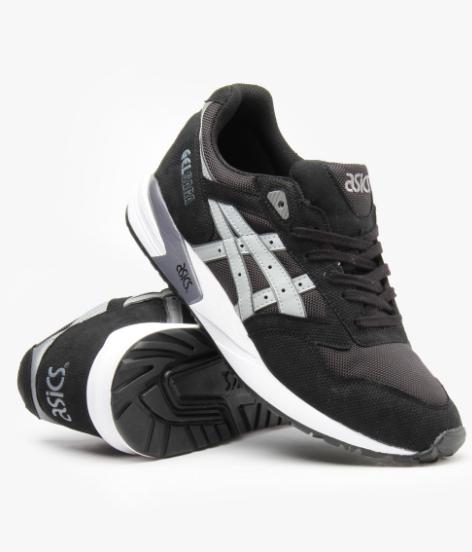 Кроссовки мужские ASICS GEL-SAGA Black (кожа) черные кожаные - BBZ Shoes   c6f62c15e2c71
