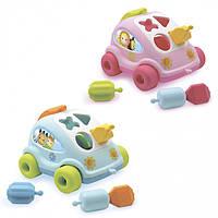 """Развивающая игрушка """"Машинка"""" с формами Cotoons Smoby"""