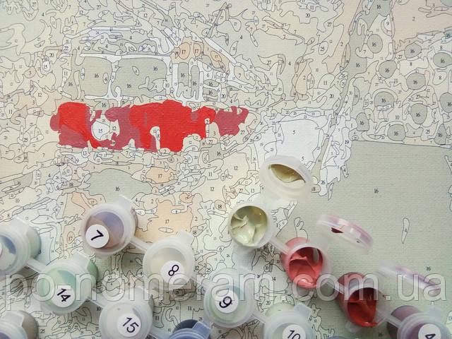 Как рисовать на цветном холсте