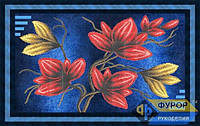 Набор для частичной вышивки бисером - Цветы на ветке, Арт. НБч-012
