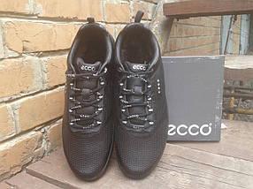 Кроссовки мужские с мехом ECCO 860020 черные (кожа), фото 2