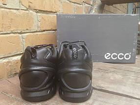 Кроссовки мужские с мехом ECCO 860020 черные (кожа), фото 3