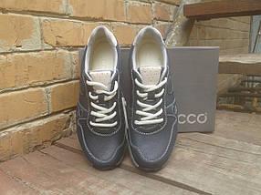Кроссовки мужские ECCO 538564 Blue/dirty color (кожа), фото 3