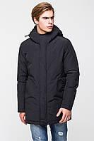 Мужская зимняя куртка прямого кроя