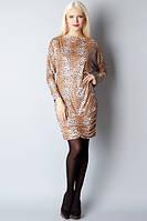 Платье-туника с пайетками БТ-09