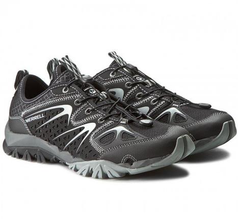 Мужские осенние кроссовки Merrell Capra Rapid  BLACK J35403 черные, фото 2