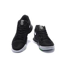 Кроссовки мужские NIKE Kyrie 3 Black/silver Черные, фото 3