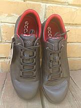 Кроссовки мужские ECCO COOL GORE-TEX Black Red, фото 2