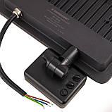 Прожектор светодиодный EV-30-01 30W 180-260V 6400K 2700Lm з датчиком, фото 4