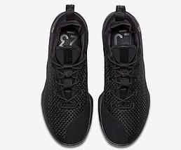 Мужские летние кроссовки NIKE LEBRON 14 LOW Black Черные, фото 2