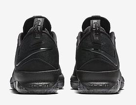 Мужские летние кроссовки NIKE LEBRON 14 LOW Black Черные, фото 3