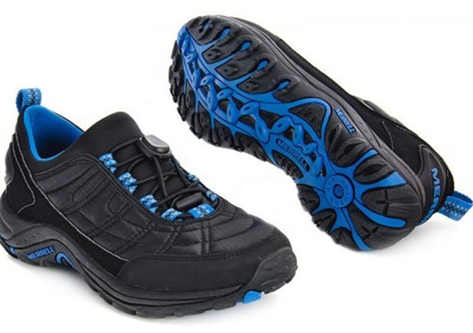 Ботинки мужские Merrell ICE J110747 C (CHINA) Black/Blue