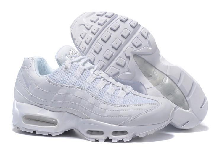 Мужские найки NIKE AIR MAX 95 HYP White Белые