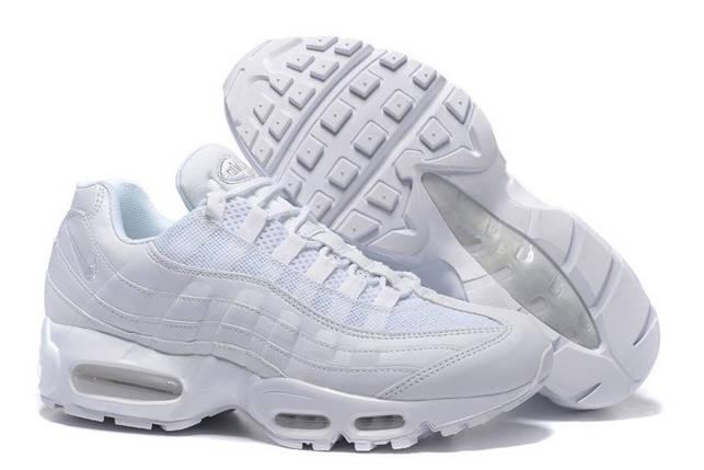 Мужские найки NIKE AIR MAX 95 HYP White Белые, фото 2