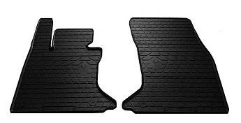 Коврики в салон резиновые передние для BMW 5 E60 2003-2010 Stingray (2шт)