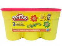 Пластилін Hasbro Play-Doh 1.36 kg червоний, жовтий, зелений 2477, фото 1