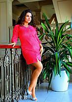 Платье - халатик со стразами, фото 2