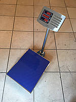 Напольные весы ВПЕ-Центровес-405-300-СМ, до 300 кг,  размер площадки 400х500 мм. С поверкой.