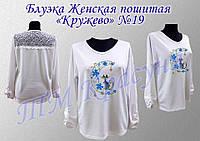 Блуза пошитая женская под вышивку, фото 1
