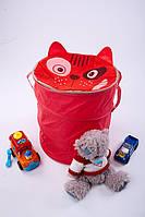 """Корзина для игрушек """"Кот"""" размер 40*50 см"""