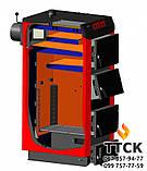 Твердопаливний котел тривалого горіння КТР-50 ECO MANUAL UNI, фото 4