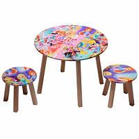 "Столик + 2 стульчика ""Винкс"" арт. 033"