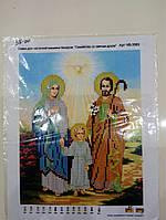 """Основа для вышивания бисером, """" Семейство со святым духом """"."""
