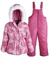 Зимний розовый комбинезон Rothschild(США) для девочки от 1 до 3 лет, фото 1