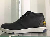 Мужские зимние ботинки с мехом TIMBERLAND 40-45 р. (кожа)