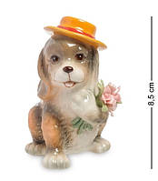 "Статуэтка Pavone ""Собака с букетом"" CMS-60/19, символ года"