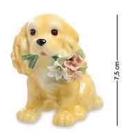 "Статуэтка Pavone ""Собака с букетом"" CMS-60/20, символ года, фото 1"