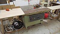 Кромкооблицовочный станок BJF135E бу с пневмобрезкой кромки 07г.