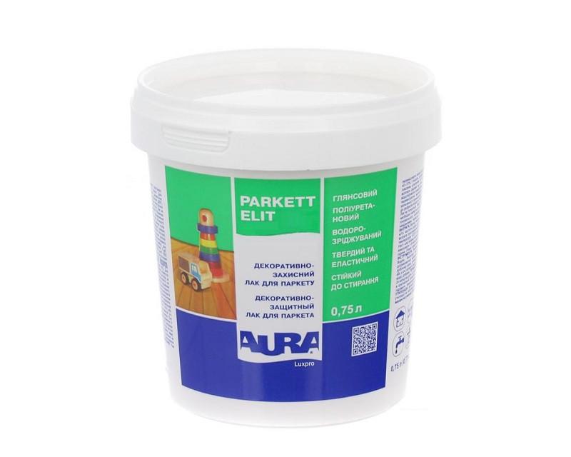 Лак полиуретановый AURA LUXPRO PARKETT ELIT паркетный 0,75л