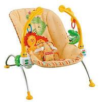 *Детский шезлонг (кресло - качалка) Fisher-Price «Тропический лес»  арт. 1760