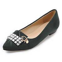 Для женщин На плокой подошве Удобная обувь Балетки Дерматин Весна Лето Осень Зима Повседневные Для прогулок Удобная обувь БалеткиЛак 05516054