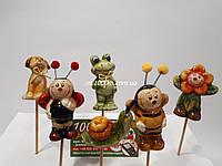 Стікер керамічний на дерев'яній паличці К2.062, фото 1
