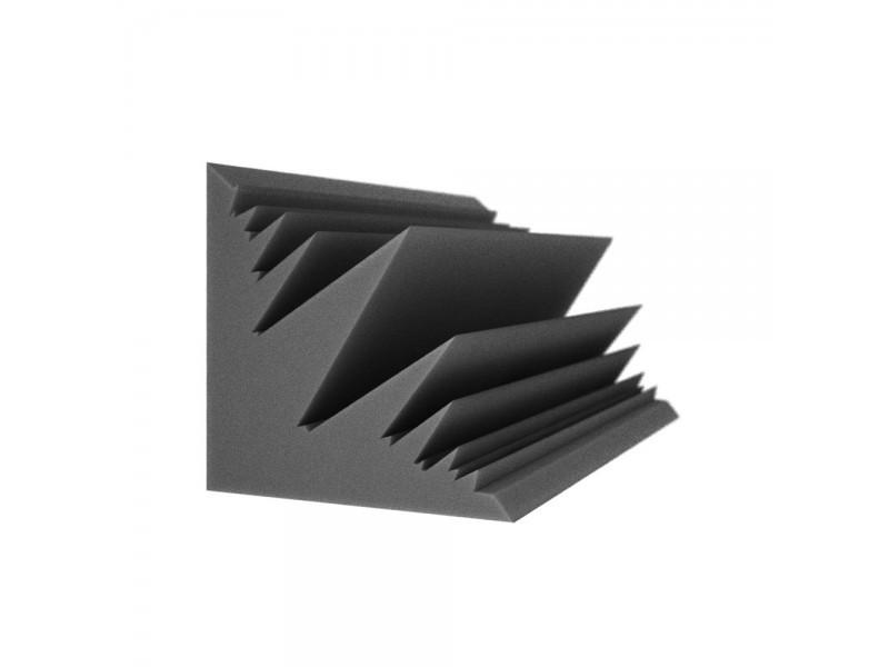 Бас пастка Ecosound Пила кутова довжина 0,5 м ширина 25 см Колір чорний графіт