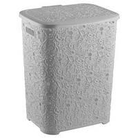 Корзина для грязного белья Elif  Ажур 67 литров