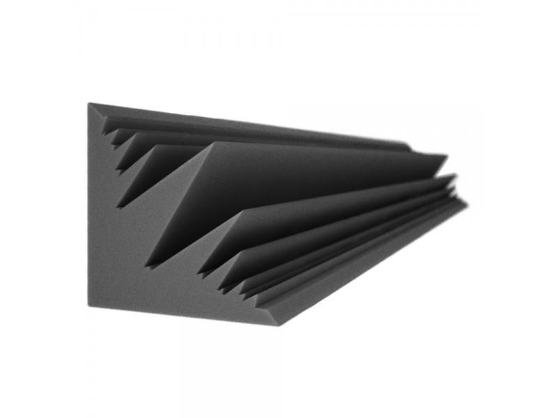 Бас пастка Ecosound Пила кутова довжина 2м ширина 25 см Колір чорний графіт