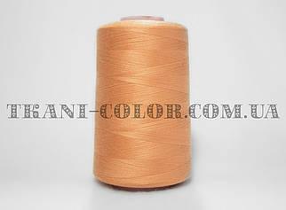 Нитка швейная 40/2 персиковая 4000 ярдов