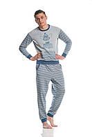 Мужская пижама 006-001 теплая, фото 1
