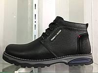 Зимние кожаные мужские ботинки Tommy Hilfiger 40-45 рр
