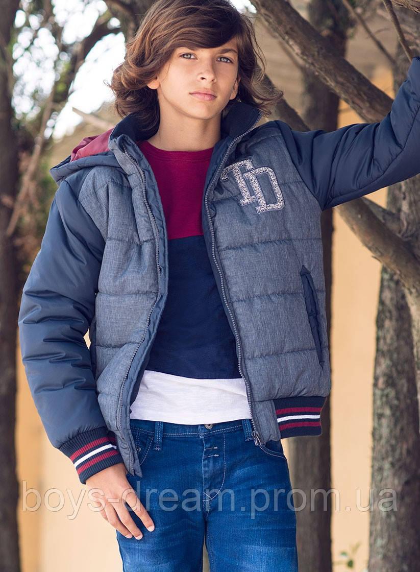Зимняя куртка для мальчика 8-14 лет. Tiffosi