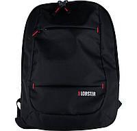 Рюкзак для ноутбука 17.3' Lobster LBS17B1BP, Black, полиэстер, 45 х 33 х 9.9 см