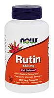 Мощный антиоксидант - Рутин / NOW - Rutin 450mg (100 caps)